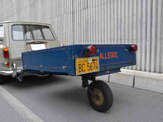 "'58 SEARS ""ALLSTATE""  WOOD TRAILER"