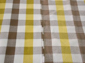Westfalia Curtain Plaid Fabric