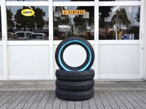 "Golden Tyre 155R15 ""1 1/8inch"" White wall"