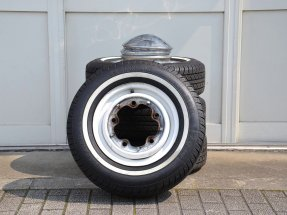 "TYPE-Ⅱ ""14inch"" Wheels with Whitewall tire"